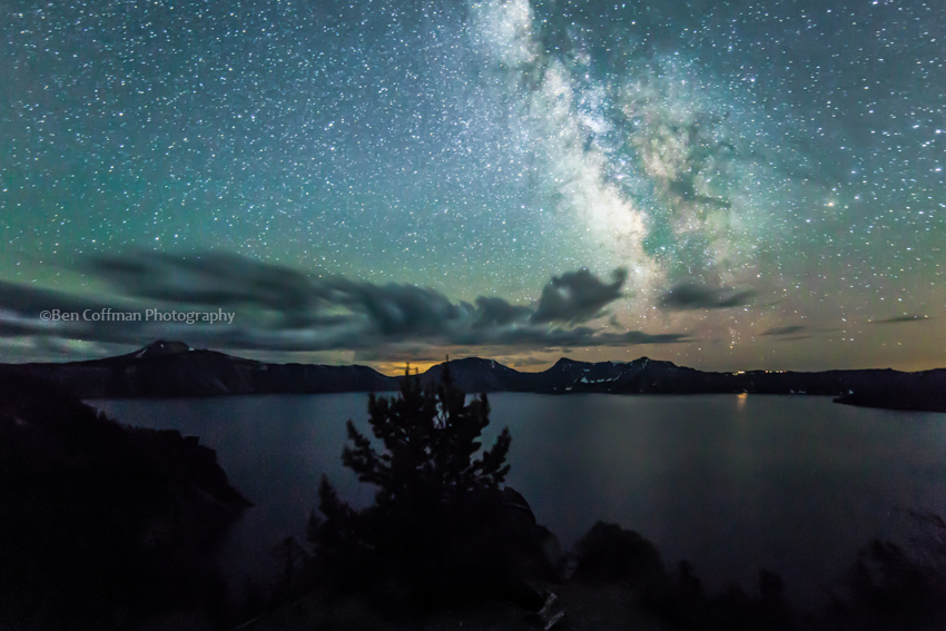 Crater Lake Milky Way July 2012 1 of 11 Landscape Astrophotography 101: Let's talk about settings, baby (and dark skies)