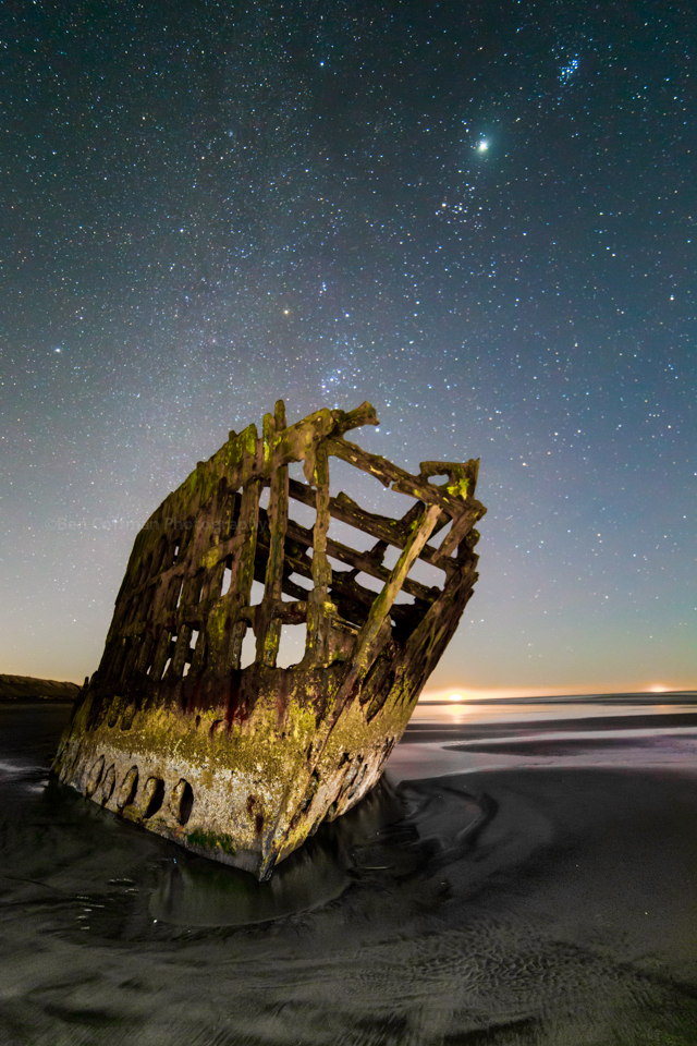 Peter Iredale flashlight diffusor 1 of 11 Landscape Astrophotography 101: A few notes on lighting your foreground