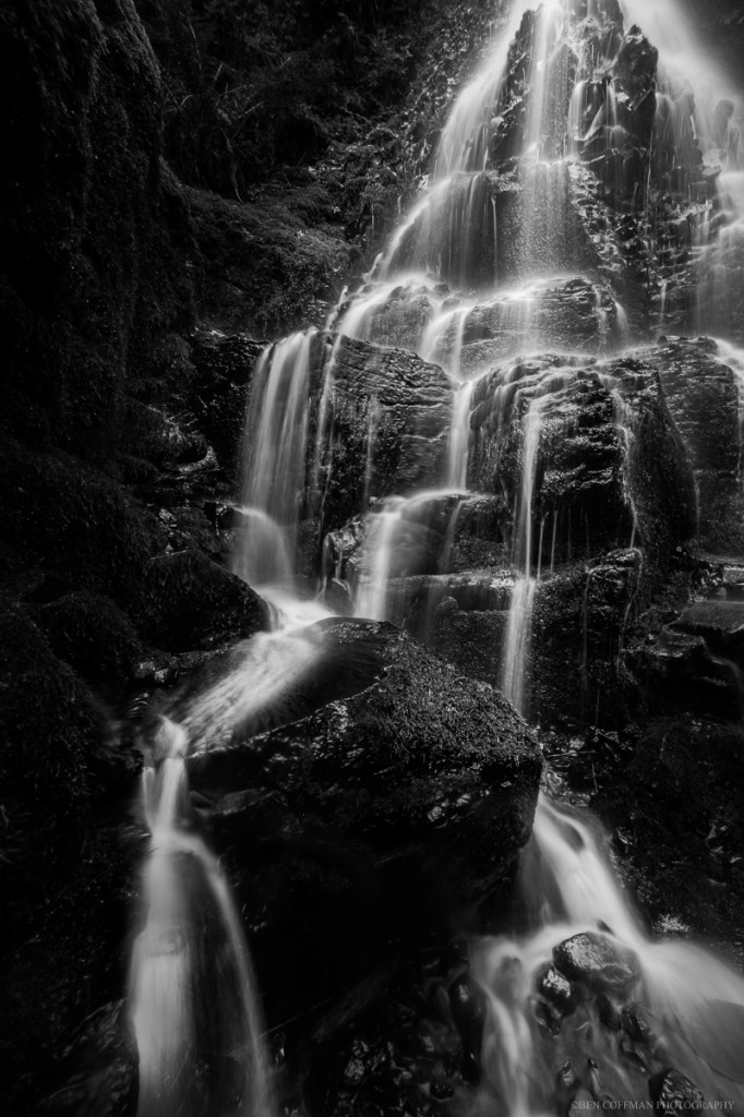 A part in the veil 682x1024 Fairy Falls, Columbia River Gorge